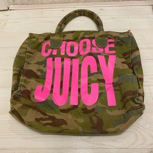 Juicy couture zip tote